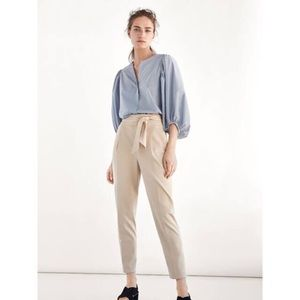 Massimo Dutti Darted High Waist Trouser Size 8